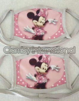 Promo Masker Karakter Minnie Mouse